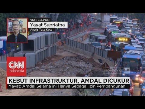 Kebut Infrastruktur, Amdal Dicukur