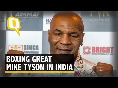 Former Boxer Mike Tyson on His Visit to India | The Quint