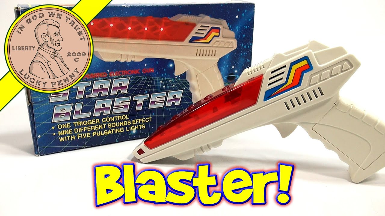 Star Blaster Electronic Lights and Sounds Toy Gun Perfect for a