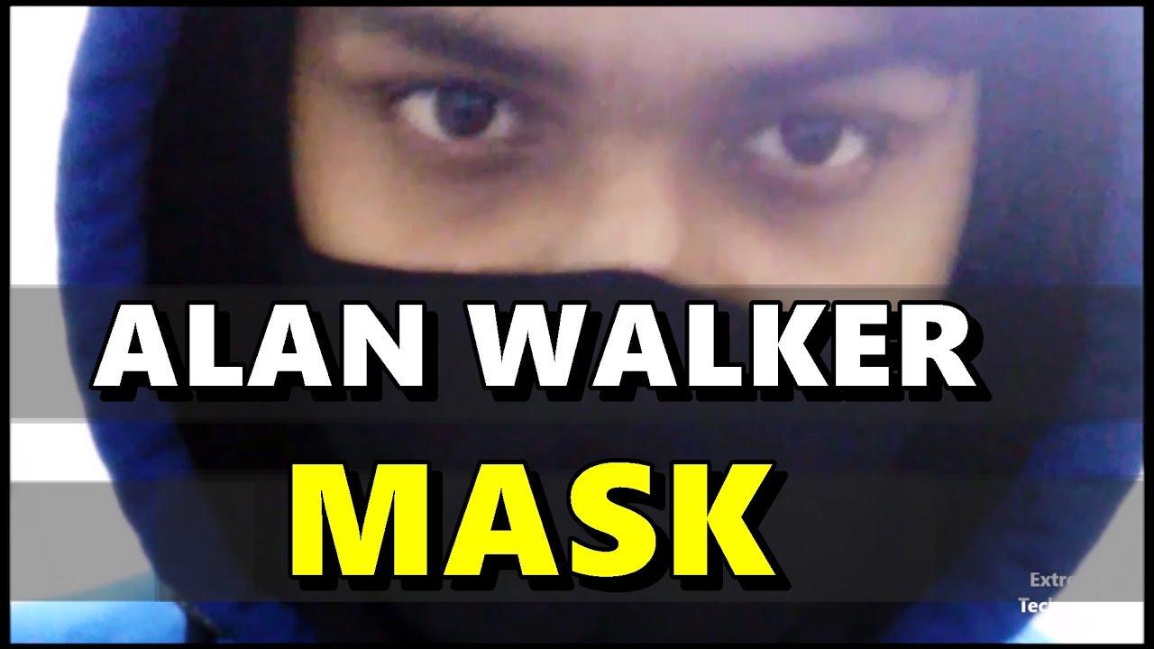 Alan Walker Hoodie Face Mask Black Faded Alone Unboxing
