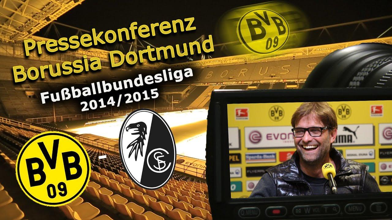 BVB Pressekonferenz Bundesliga : Borussia Dortmund - SC Freiburg