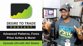 124: Advanced Patterns & Trading Forex Price Action - Akil Stokes   Trader Interview