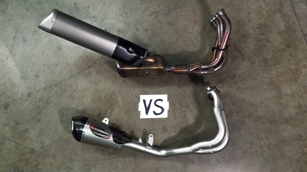 the truth about aftermarket exhausts mc garage