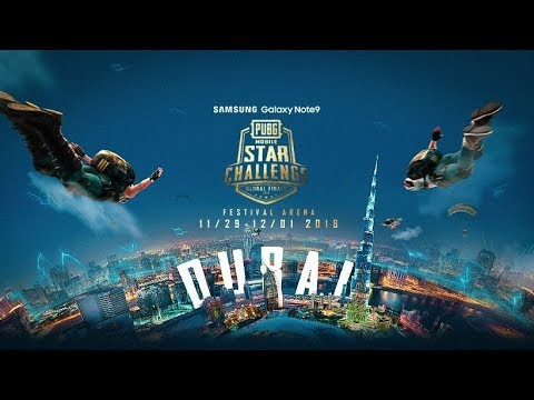 🔴 PUBG MOBILE STAR CHALLENGE GLOBAL FINALS DUBAI DAY 1 || HD 1080P