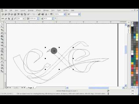How to Learn Basic Tool Object Design Corel DRAW - YouTube