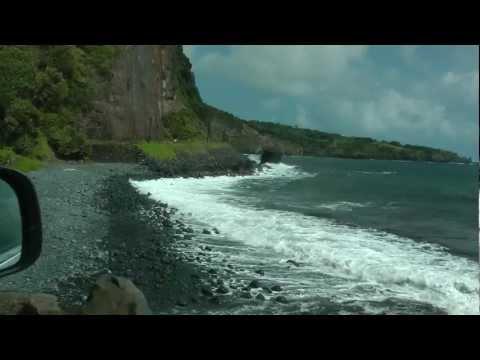 scenic Hawaii St. Highways 31 and 330 east to Hana, Maui 1080p (south road to Hana)