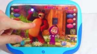 Интерактивный детский планшет Маша и медведь