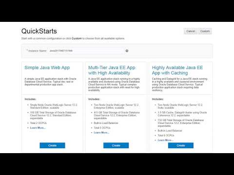 Getting Started with Oracle Java Cloud Service - YouTube