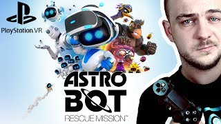 BUDOWA I JASKINIA  Astrobot Rescue Mission #2   PS4   VR  
