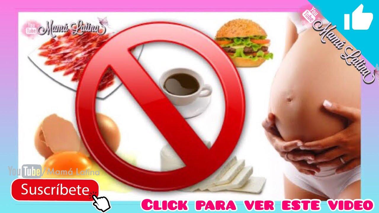 que debe comer una embarazada
