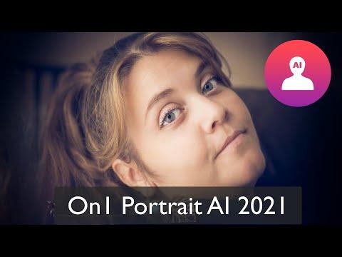 Découverte On1 Portrait AI 2021