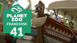 PLANET ZOO | EP. 41 - WATER WE DOING (Franchise Mode Lets Play)