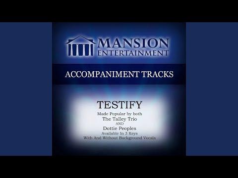 Testify (Vocal Demonstration)
