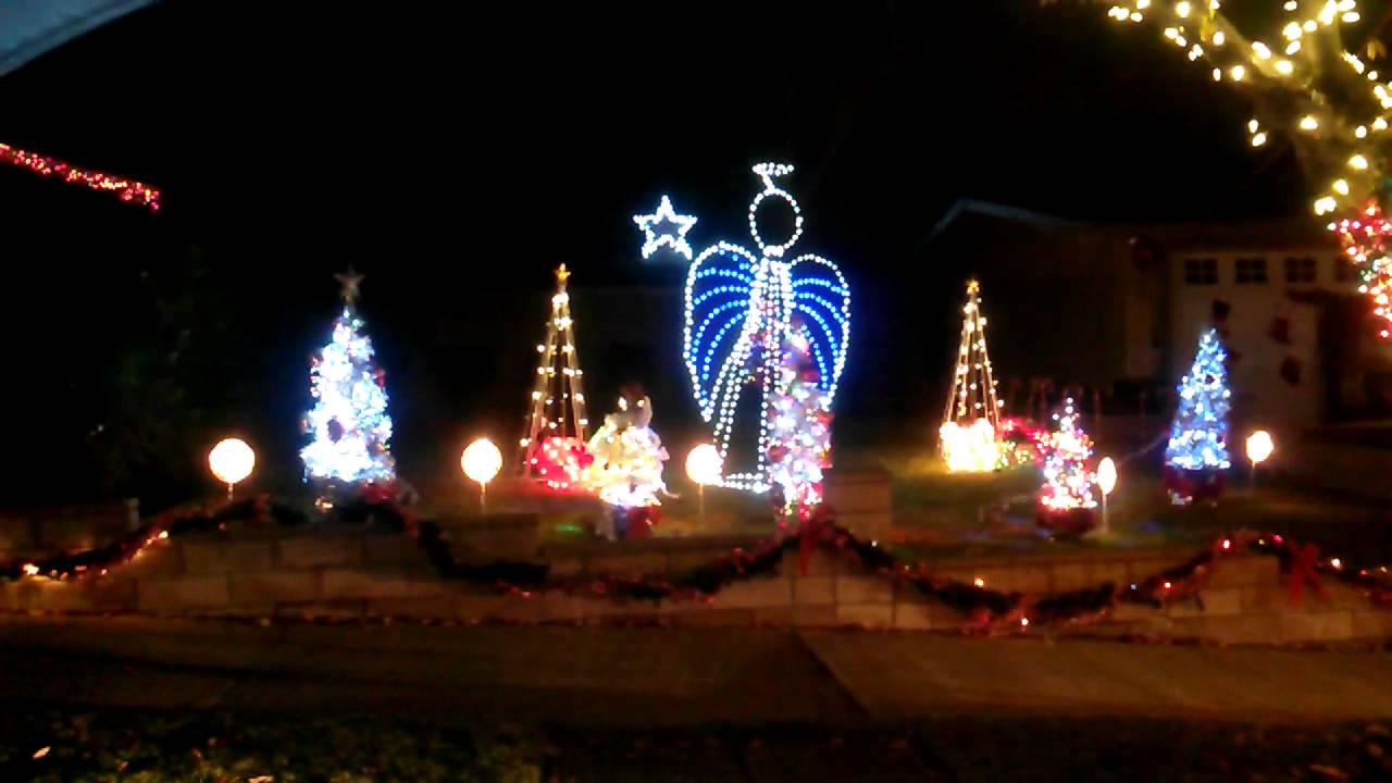 Musical christmas light display pasadena ca youtube for Musically lit