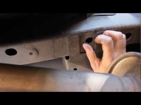 Installing a Trailer Hitch on a 2005 Ford Escape
