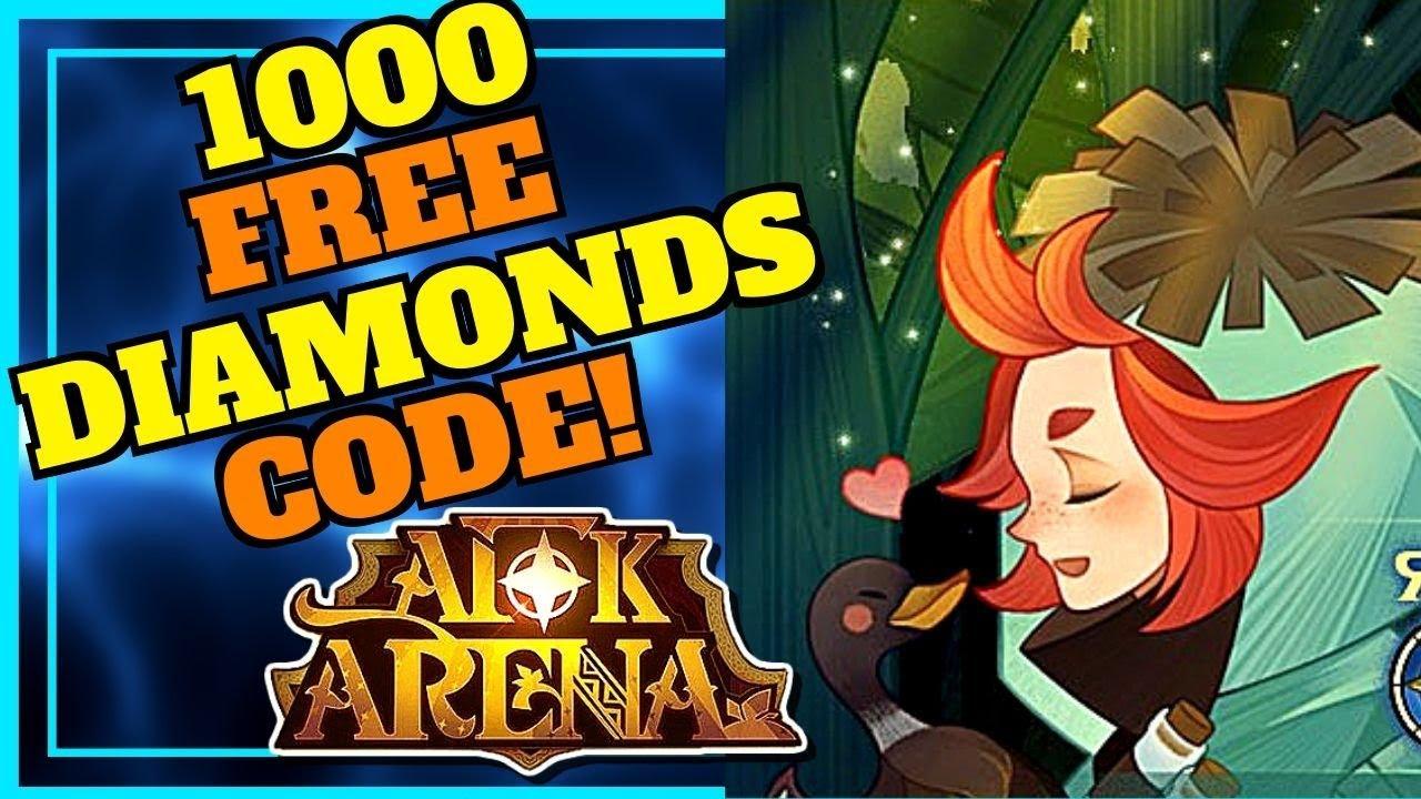[AFK ARENA] 1000 FREE DIAMONDS REDEMPTION CODE & NEW HERO ROWAN!