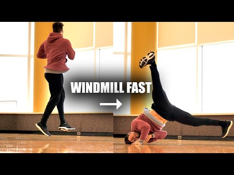 How to Windmill by Turning a 360 into Breakdance