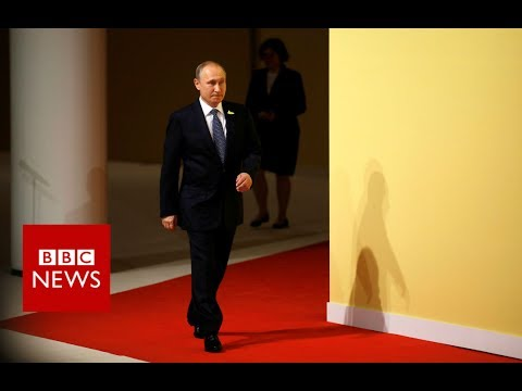 G20 SUMMIT: Trump and Putin meet face to face for first time - BBC News