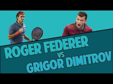 Roger Federer vs Grigor Dimitrov - Australian Open