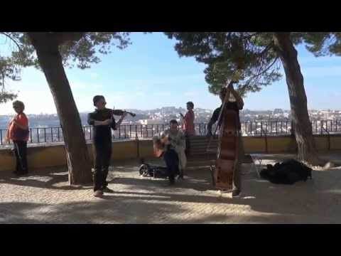 One day in Lisbon with street band HD