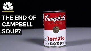 How the Campbell Soup Company Fell Off Its Perch