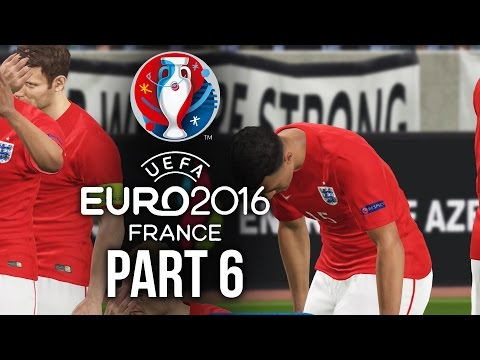 Euro 2016 Gameplay Walkthrough Part 6 – TYPICAL ENGLAND (PES 2016 UEFA EURO 2016)