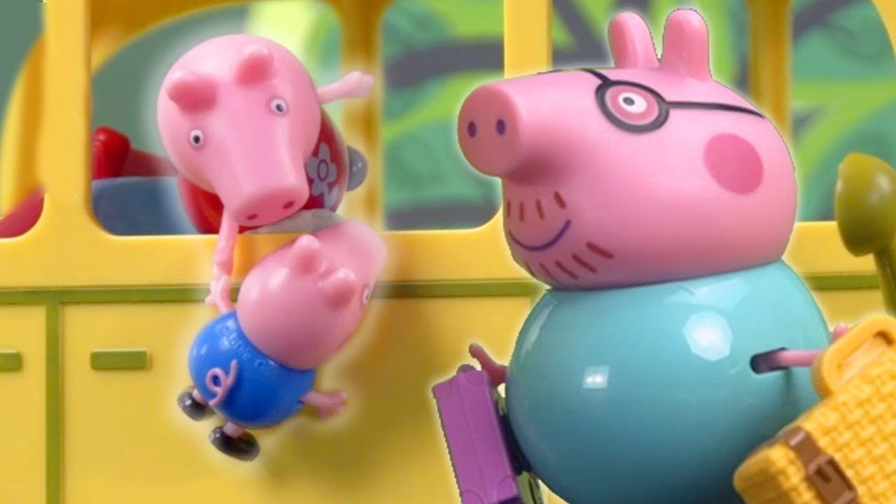 Download Peppa Pig Official Channel | Peppa Pig Stop Motion: Peppa Pig's Surprise Holiday