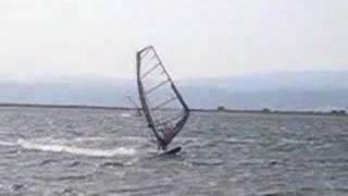 samshokk en windsurf