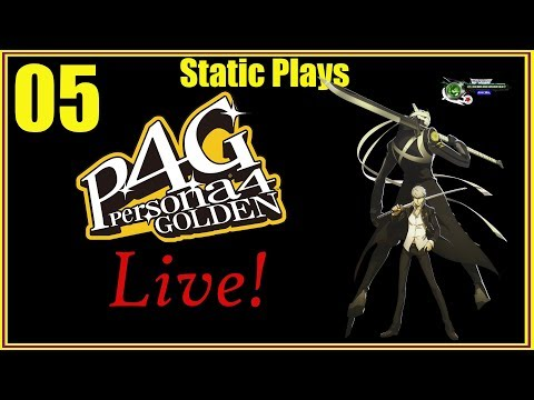 Static Plays Persona 4 Golden - That Rainy Day Feeling!