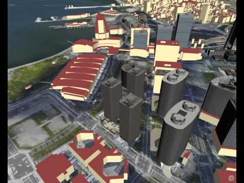 3D city visualization