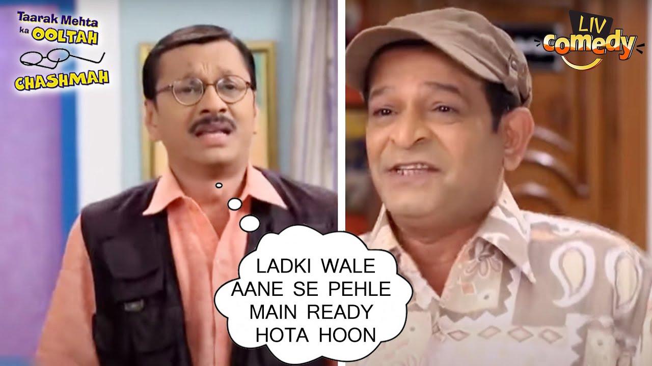 क्या है पोपट के Nervousness का राज़? | तारक मेहता का उल्टा चश्मा | Comedy Videos