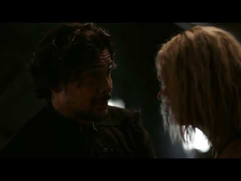 The 100 5x04. Bellamy and Clarke. You're here.