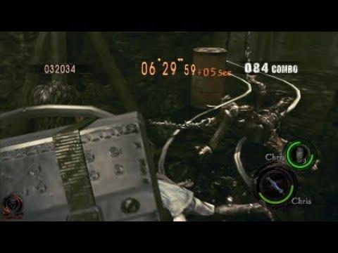 Resident Evil 5: Melee kill a Reaper
