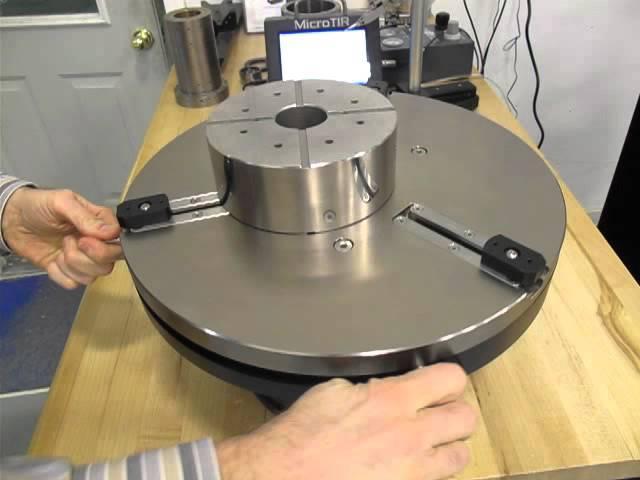 Large Diameter Precision Centering Fixture