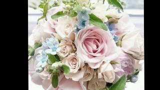Свадебные цветы, букеты. Слайд-шоу из фото.