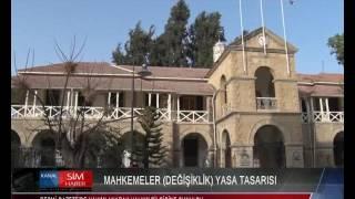 MAHKEMELER (DEĞİŞİKLİK) YASA TASARISI RESMİ GAZETE'DE YAYIMLANARAK HALKIN BİLGİSİNE SUNULDU