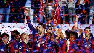 Barcelona are once again champions of europe, after knocking off juventus, 3-1, in the 2015 uefa league final at olympiastadion berlin, germ...