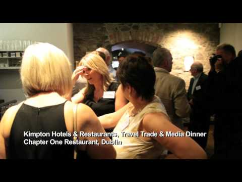 Kimpton Hotels host Irish Travel Trade and Media at Chapter One, Dublin - Unravel Travel TV