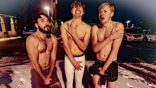 Download WE NEARLY FROZE TO DEATH!!! w/ Sam & Colby, Corey Scherer Mp3 and Videos