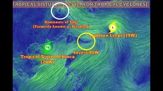 Weather Update- (August 14-16, 2018) Habagat [Typhoon Leepi] Invest 98W