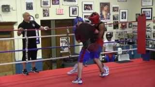 Genaro Mendez & Edward Brown sparring 4 Rounds