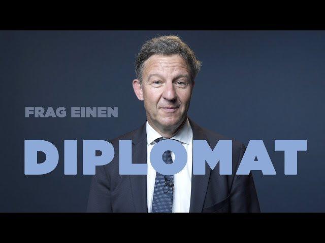 FRAG EINEN DIPLOMATEN  Markus über Verhandlungen mit Terroristen, abgehörte Telefone & Donald Trump