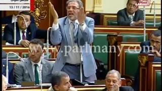 خالد يوسف  ينفعل على رئيس المجلس.. و