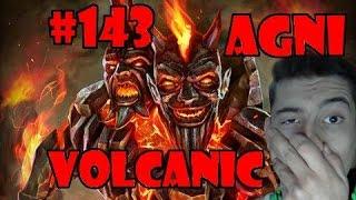 smite gameplay pl 143 agni volcanic   hd 60 fps