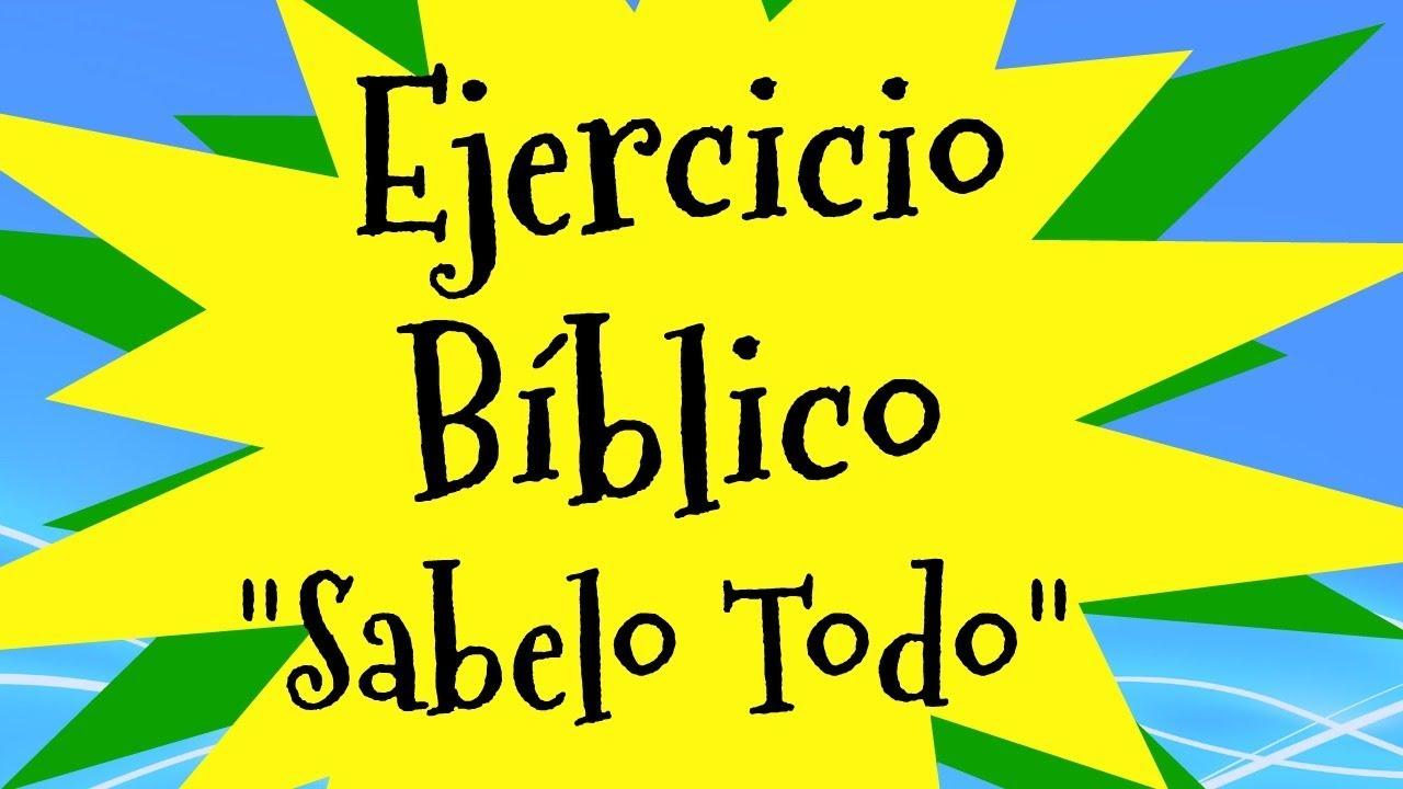 Ejercicio Biblico Sociedad De Jovenes Adventistas Youtube