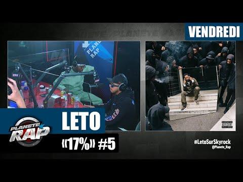 Youtube: Planète Rap – Leto«17%» avec Hamza et Fred Musa! #Vendredi