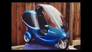 Fully Enclosed Scooter Trike