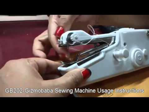 GB40Gizmobaba Mini Sewing Machine USAGE YouTube Classy Mini Sewing Machine Use