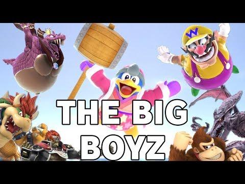 The BIG BOYZ Montage - Super Smash Bros. Ultimate thumbnail