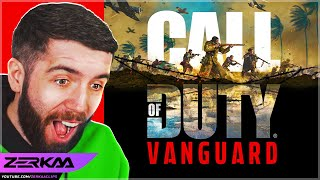 REACTING To Call of Duty: Vanguard - Official Teaser Trailer